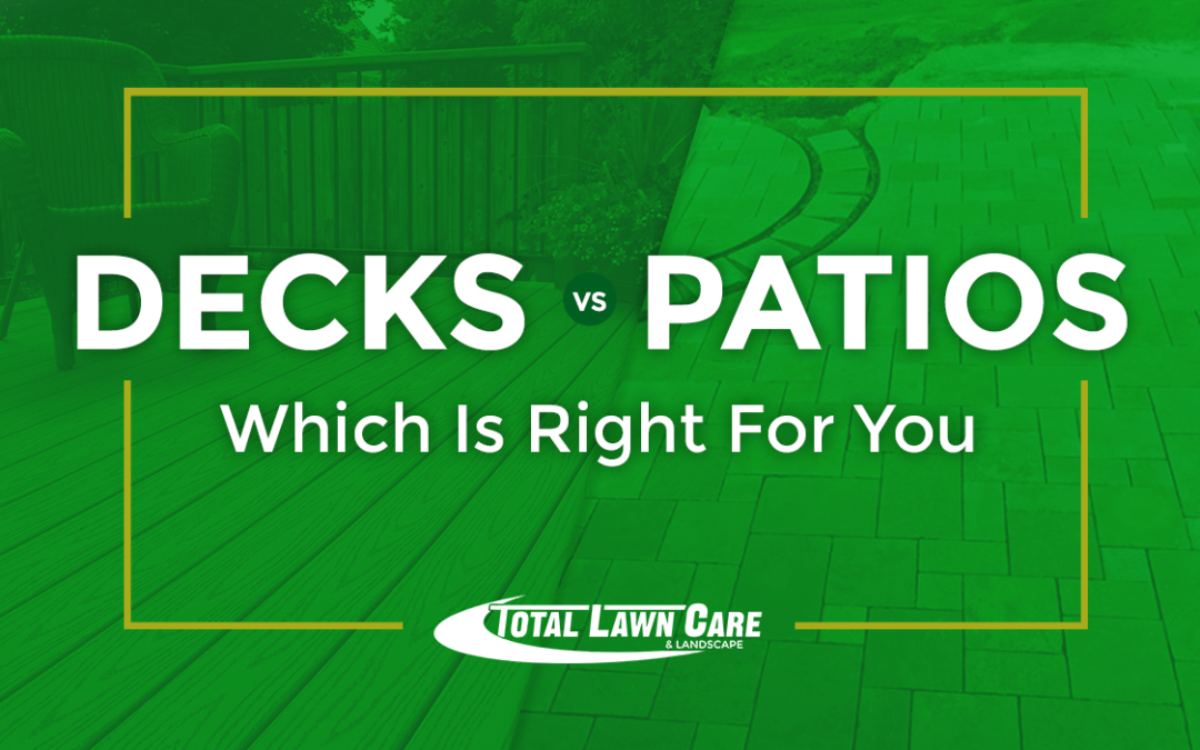 Decks vs. Patios: Which is right for your home?