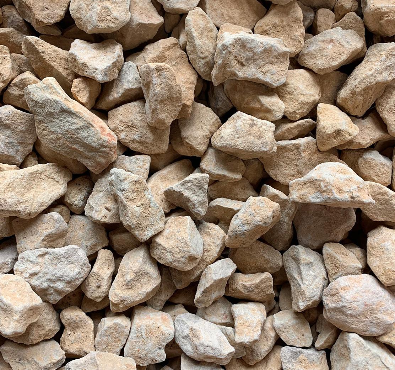 Limestone close up